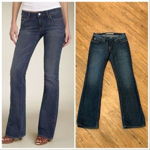 Paige Hollywood Hills Bootcut Stretch Jeans 28